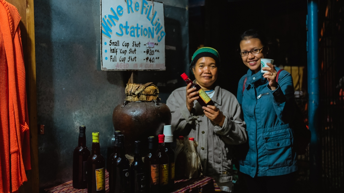 Sagada's Wine Refilling Station / Where The-? Travels