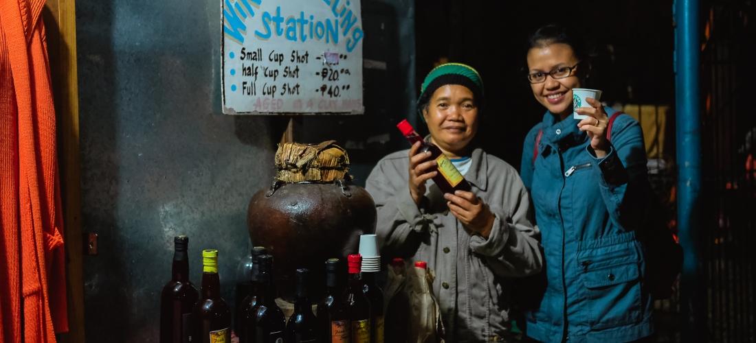 Sagada's Wine Refilling Station / Where The-? Travels